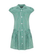 Green Gingham School Dress