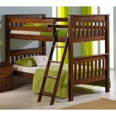 Nebraska Furniture Mart – Donco Trading Company Twin over Twin Bunk Bed