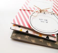 D.I.Y Pocket Book with Printable Covers   DESIGN IS YAY!