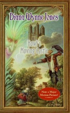 Howl's Moving Castle by Diana Wynne Jones. A dreamy, whimsical, fantasy story with a fairy tale feel. Click through for full review. Via Diamonds in the Library.