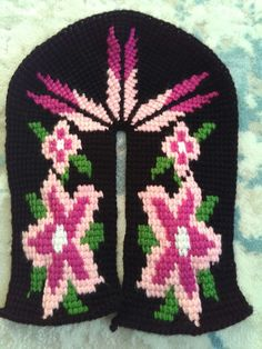 Crochet Slippers, Knitting, Shoes, Slippers, Zapatos, Tricot, Shoes Outlet, Breien, Stricken