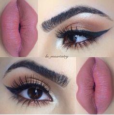 Pinkish lips
