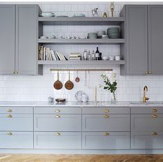 40 Ideas kitchen ikea savedal white cabinets for 2019 Kitchen Ikea, Home Decor Kitchen, New Kitchen, Kitchen Dining, Kitchen Cabinets, Grey Cabinets, Ninja Kitchen, Brass Kitchen, Wall Cabinets