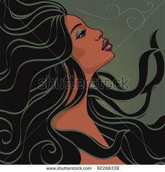 Fotos stock Woman Wind Face Hair, Fotografia stock de Woman Wind Face Hair, Woman Wind Face Hair Imagens stock : Shutterstock.com