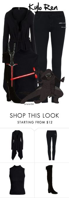 """Kylo Ren"" by amarie104 ❤ liked on Polyvore featuring Free People, Boohoo, Nine West and Han Cholo"