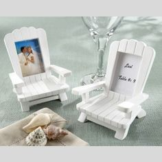 Give your family and friends a reason to sit back and enjoy the view of a photograph or their very own name when you use Summer Outdoor Chair Place Saver and Picture Frame Set as part of your seasonal event decor and your memento for guests to take home. - See more at: http://www.topweddings.com/summer-outdoor-chair-place-saver-and-picture-frame-set-set-of-4.html#sthash.E90VXe0p.dpuf