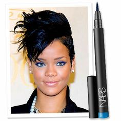 rihanna's  eye makeup | Join Rihanna's Cat-Eye Craze