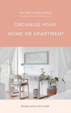 30 Day Challenge: Organize Your Home or Apartment Organizing Wires, Organizing Your Home, Home Organization, Living Room Flooring, Kitchen Flooring, Home Living Room, Organize Your Life, How To Wake Up Early, 30 Day Challenge