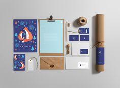 Malulo - branding and illustrations on Behance