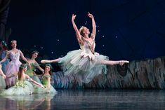Nashville Ballet Company dancer Sarah Cordia in Midsummer Night's Dream. Credit: Karyn Photography