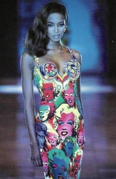 Naomi for Versace s/s 1991