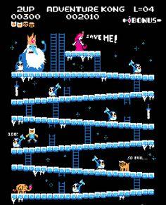 Adventure Time Donkey Kong Ice King T-Shirt