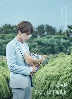 "My worldwide handsomee!!:((((  Kim Seok Jin #7last "" If time could turn back, I wish I will be good man"""