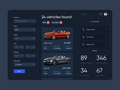 Mobile Web Design, Application Design, Ui Inspiration, Ui Ux Design, Car, Website, Automobile, Vehicles, Cars
