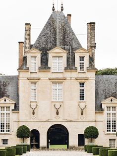 Places | At Home With: Hubert de Givenchy, Château du Jonchet, France