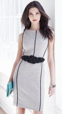 Fashion work style for ladies #fashion #work www.loveitsomuch.com