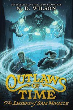 Outlaws of Time is Louis L'Amour's Lonesome Gods meets Doctor Who told through the voice of a modern Flannery O'Connor for boys – set in the sticky Arizona desert. And just …