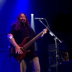 Dave Schools, a.k.a Bass Mountain, of Widespread Panic