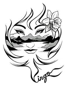 Znalezione obrazy dla zapytania drawing related to virgo Virgo Symbol, Virgo Constellation Tattoo, Horoscope Tattoos, Zodiac Sign Tattoos, Zodiac Horoscope, Zodiac Signs, Virgo Art, Virgo Sign, Virgo Pictures