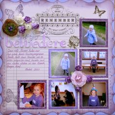 Belvedere - Scrapbook.com