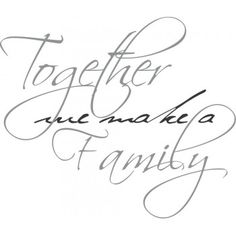 Together we make a family 2 - balorina.se