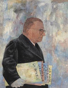 Ben Shahn (Lithuanian-American, 1898 – 1969 ) Portrait of Jean-Paul Sartre, 1965 Jean Paul Sartre, Walker Evans, Illustrations, Graphic Illustration, Ben Shahn, Social Realism, Magic Realism, Political Art, Writers And Poets
