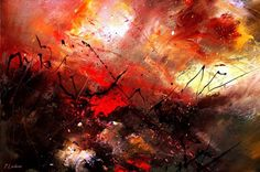 Pol Ledent Abstract 100202 print for sale. Shop for Pol Ledent Abstract 100202 painting and frame at discount price, ships in 24 hours. Abstract Oil, Abstract Wall Art, Image Nice, Snake Painting, Contemporary Abstract Art, Traditional Paintings, Traditional Art, Beginner Painting, Acrylic Art