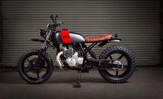 Honda CBF250 Street Tracker by Kevils Speed Shop #motorcycles #streettracker #motos | caferacerpasion.com