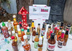 #hotornotsauce backyard bbq and hot sauce tasting party in San Francisco