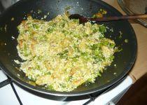 Pohanka s brokolicí a kuřecím masem