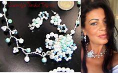 +WHITE+AND+BLUE+Pearls+Jewelery+SET+from+CamelysUnikatBijoux+by+DaWanda.com