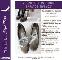 Martes de Style Tips: estirar unos zapatos nuevos. Emma Tips. (Emma Novias y Cocktail no es dueña de parte de ésta imagen, sólo del diseño. Todos los derechos reservados al creador original de las fotografías.)
