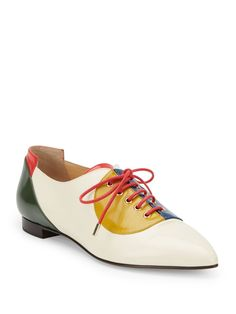 Charlotte Olympia | Women's Multicolor Modern Leather Brogues