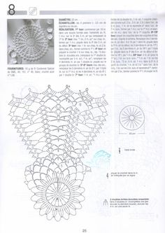 "Photo from album ""Crochet Creations on Yandex. Crochet Table Runner Pattern, Crochet Pillow Pattern, Crochet Doily Patterns, Crochet Tablecloth, Crochet Chart, Thread Crochet, Crochet Motif, Crochet Doilies, Crochet Stitches"