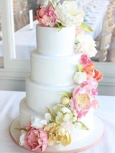 29 ideas de tortas para bodas a las que querrás decir acepto - El Gran Chef