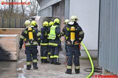 FF Kremsmünster: Brand in Großbetrieb #feuerwehr #fire #firemen #austria