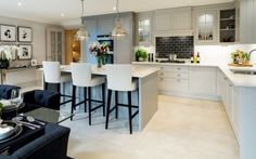 Grey Millgate kitchen