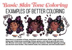 Someone asked for a few tips regarding coloring skin tones so I threw this together real quick lol.Obviously not an end all, be all — and in NO WAY covers the plethora of info regarding this topic. Just a quick guide from my perspective. Digital Painting Tutorials, Digital Art Tutorial, Drawing Tutorials, Art Tutorials, Digital Paintings, Drawing Techniques, Drawing Tips, Drawing Reference, Sketching Tips