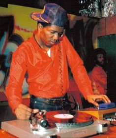 DJ Tony Tone from Cold Crush Brothers