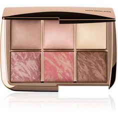 Hourglass Ambient® Lighting Edit found on Polyvore featuring beauty products, makeup, beauty, colorless, brightening mask, travel cosmetic, holiday makeup, hourglass cosmetics and sheer makeup