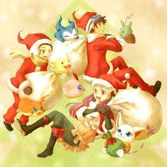 Digimon Adventure 02  Christmas