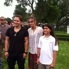Prince, Paris, and Blanket looking so grown up! At the recent Mj Birthday celebration