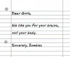 #zombies #deargirls