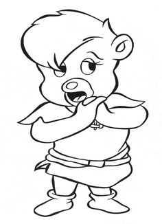 gummi bears coloring pages