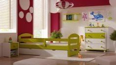 """Drewniane łóżko dziecięce """"Kami PLUS 180x80"""""""