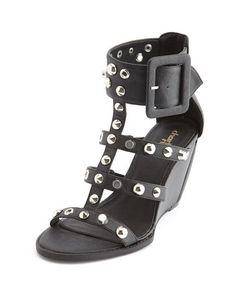 Studded Gladiator Wedge Sandal: Charlotte Russe