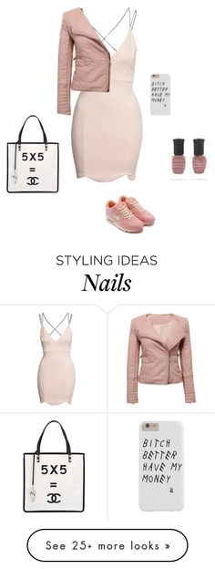 """""""Just casual"""" by maddmae on Polyvore featuring Boohoo, Deborah Lippmann and Chanel"""