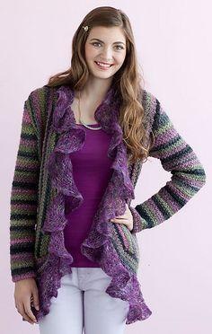 Ravelry: Juliet Sweater pattern by Mari Lynn Patrick. Crochet Today. Fall 2013.