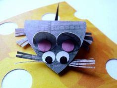 Papírová myška!