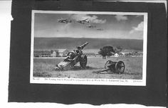 WW2-POST-CARDS-2-CARDS-1942-INDIANTOWN-GAP-PA-MILITERY-BASE-Army